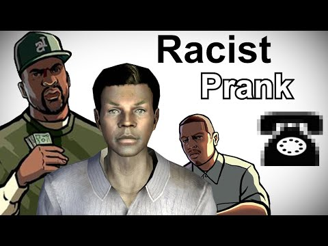 Black Video Game Characters Call Bawb the Racist - Prank Call Compilation