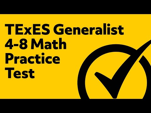 Free TExES Core Subjects 4-8 (211) Math Practice Test Questions