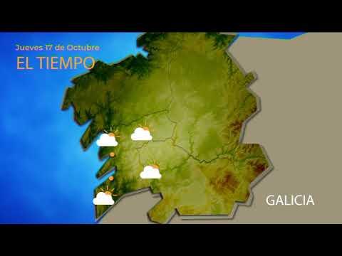 Previsión meteorológica Ourense 16 octubre 2019