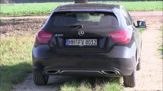 2016 Mercedes A 180  Facelift (122 HP) Test Drive
