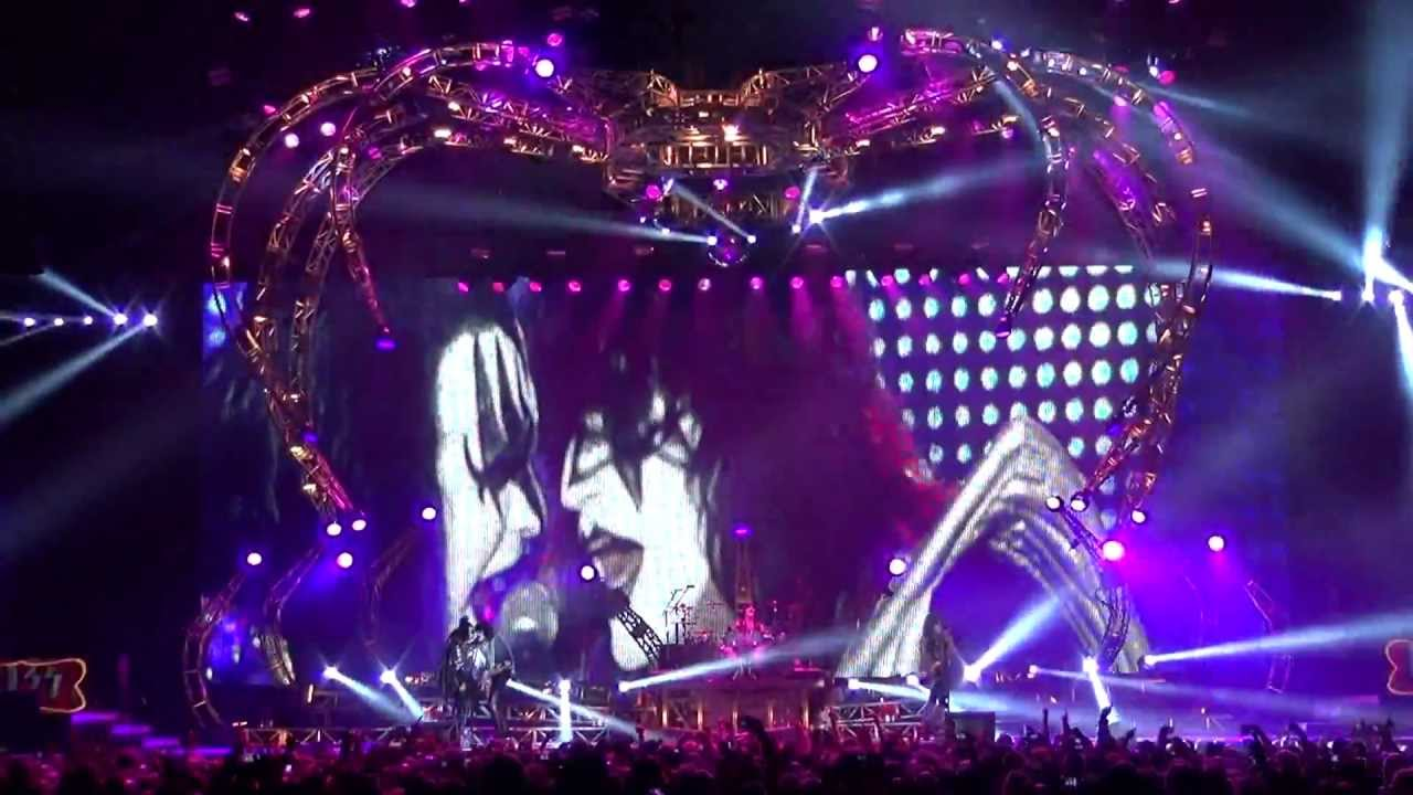 KISS Psycho Circus Stockholm, Sweden June 1, 2013