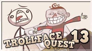 TROLLOWANIE NA POWITANIE! Darmowe gry online: Trollface Quest 13