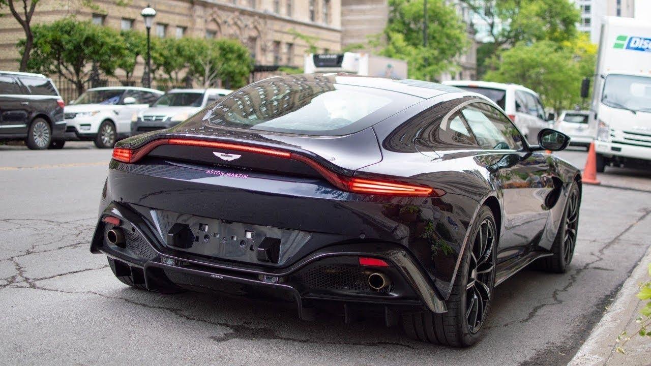 ALL-NEW 2019 Aston Martin Vantage Dark Blue Spotted In ...Aston Martin Vanquish Blue