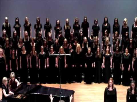 Song For Peace  2013 TN AllState Womens Choir