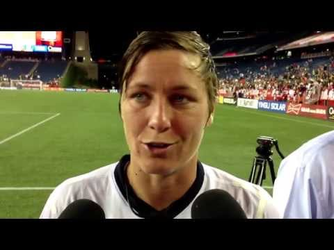 Abby Wambach postgame - June 15, 2013 - USA 4, South Korea 1