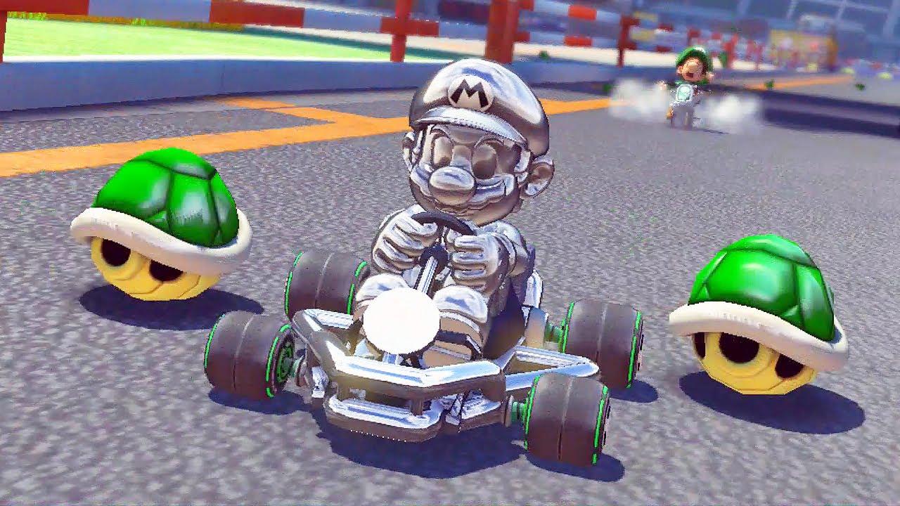 gugel kart Mario Kart 8: Metal Mario na Mirror Star Cup   Nintendo Wii U HD  gugel kart