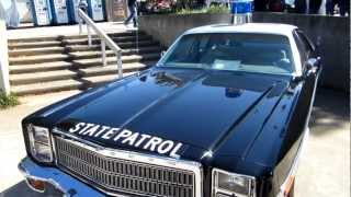 North Carolina State Fair 2012 - NC State Trooper Cars Past and Present - Oct 13, 2012