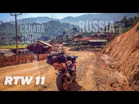 TeapotOne RTW by Motorbike - Episode 11 Thailand & Laos