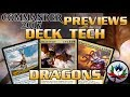 """Draconic Domination"" Commander 2017 Deck Tech and Upgrades featuring The Ur-Dragon – MTG!"