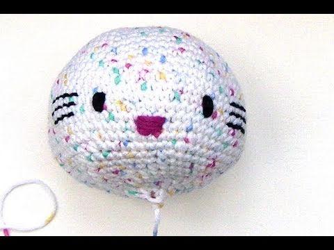 Häkeln Hello Kitty Engel Mit Herz Teil 1 Kopf Amigurumi