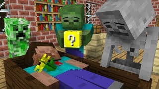 Monster School: Lucky Block Challenge - Minecraft Animation