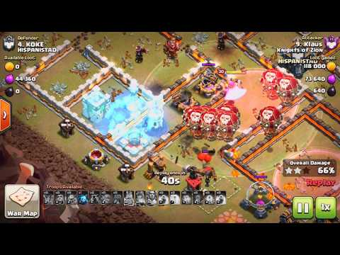 4 MORE of MY Clan War Leagues ATTACKS!  Clash of Clans