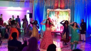 natashas sangeet dance