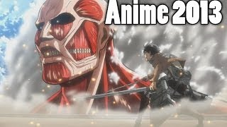 LOS MEJORES ANIME 2013 / THE BEST ANIME 2013