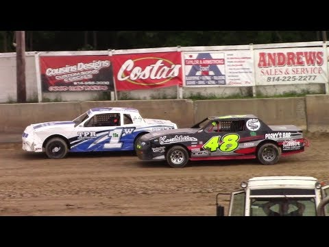 Pure Stock Heat Two | Old Bradford Speedway | 8-13-17