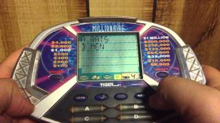 Who wants to be a millionaire Tiger handheld review