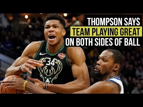Thompson: Warriors played great on both sides of the ball