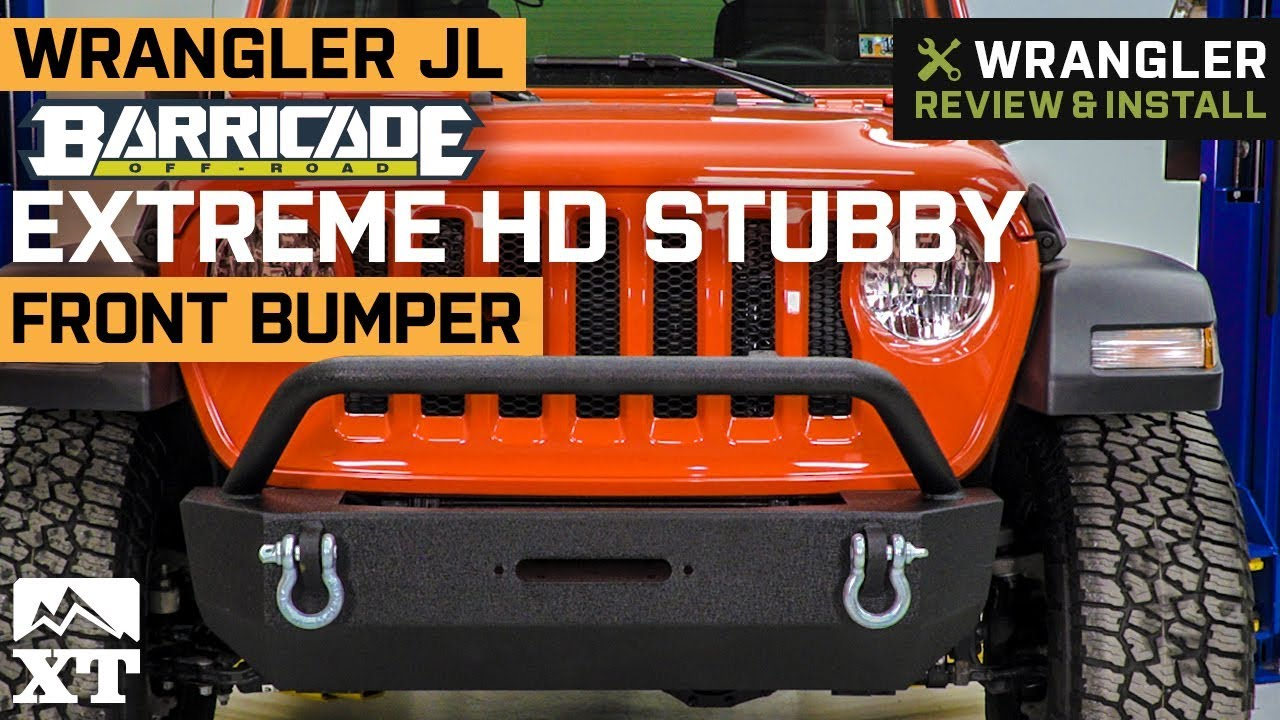 Barricade Skid Plate for HD Front Bumper for Jeep Wrangler JL 2018-2020