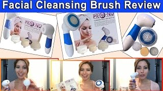best facial cleansing brush review new pro nu waterproof 4 in 1 facial and body spa kit