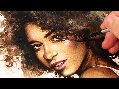 10 TIPS For Watercolor Portraits | HOW TO USE WATERCOLOR