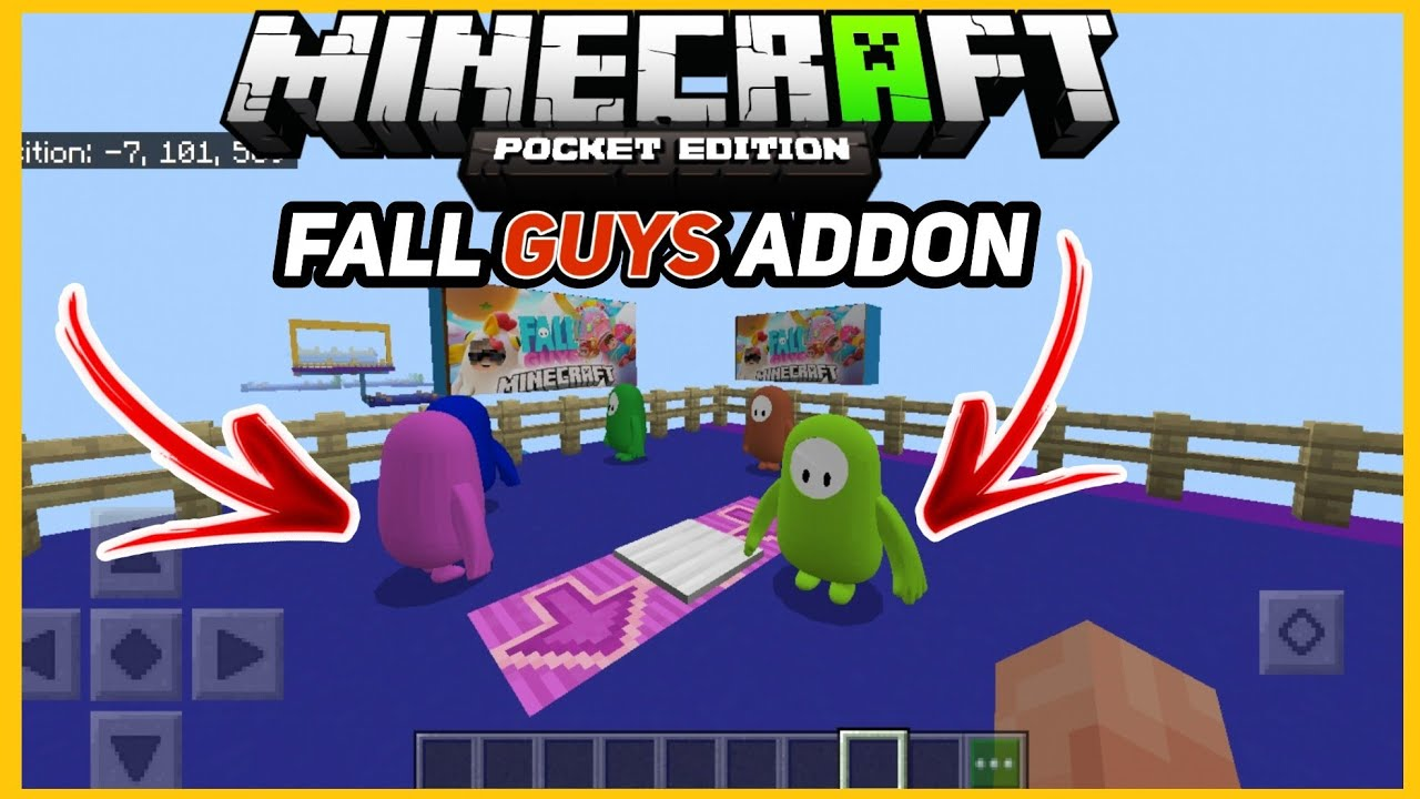 how to download fall guys mod in minecraft pe | Download Fall Guys Mod In Minecraft  |2020
