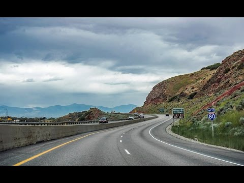 16-33 Utah Canyons: I-80 & I-84 East of Salt Lake City