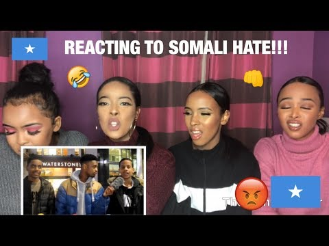 REACTING TO SOMALI HATE (WE HAVE NO FILTER😡😡!!!) thumbnail