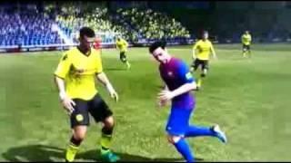 Fifa 12 glitch xavi want a kiss