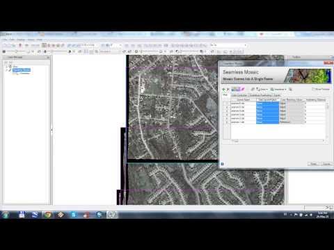 Mosaic tutorial in ENVI 5.1