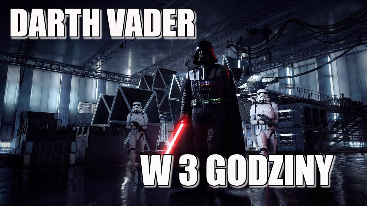 STAR WARS BATTLEFRONT 2 – DARTH VADER w 3 GODZINY