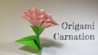 Little Box DiY - Origami Carnation 康乃馨摺紙