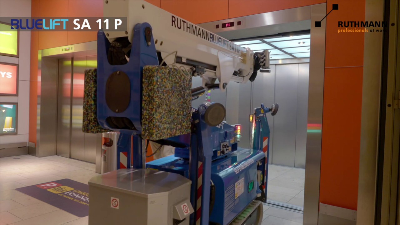 RUTHMANN BLUELIFT SA 11 P Raupenarbeitsbühne mit Korbarm-LIFT-Funktion / spiderlift