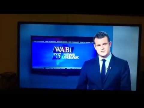 WABI TV Bangor news anchor drops an F-bomb on air