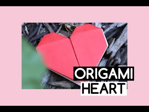How To Make Origami Heart Easy Instructions For Kids Youtube