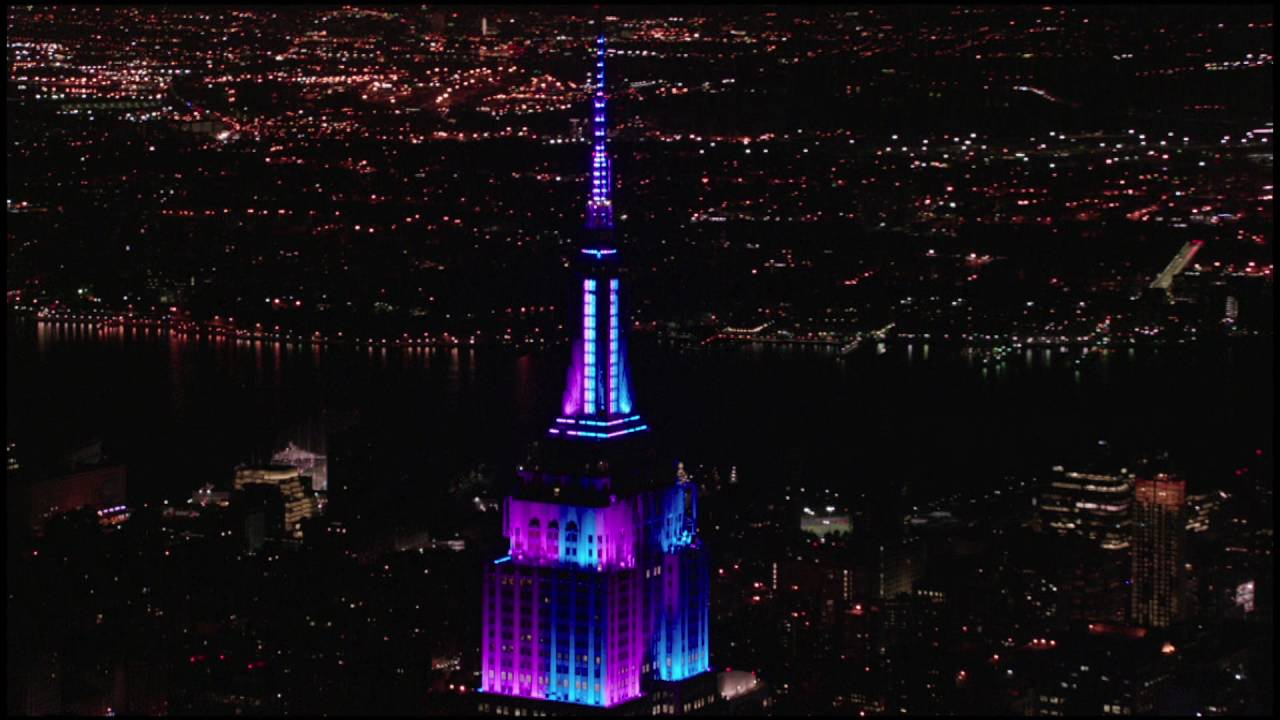 Empire State Building Light Show for Tony Bennetts 90