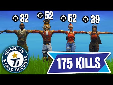 *NEW* FORTNITE WORLD RECORD - 175 KILLS IN 1 GAME!
