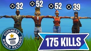 *NEW* FORTNITE WORLD RECORD - 175 KILLS IN 1 GAME!