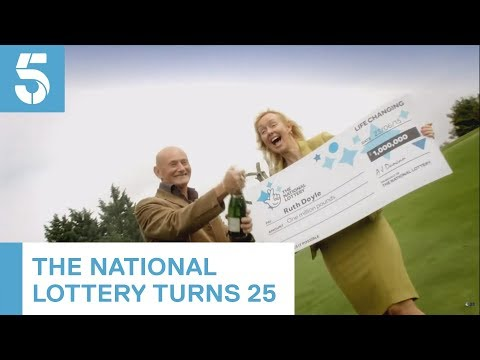Making Millionaires: 25 Years Of The National Lottery  | 5 News