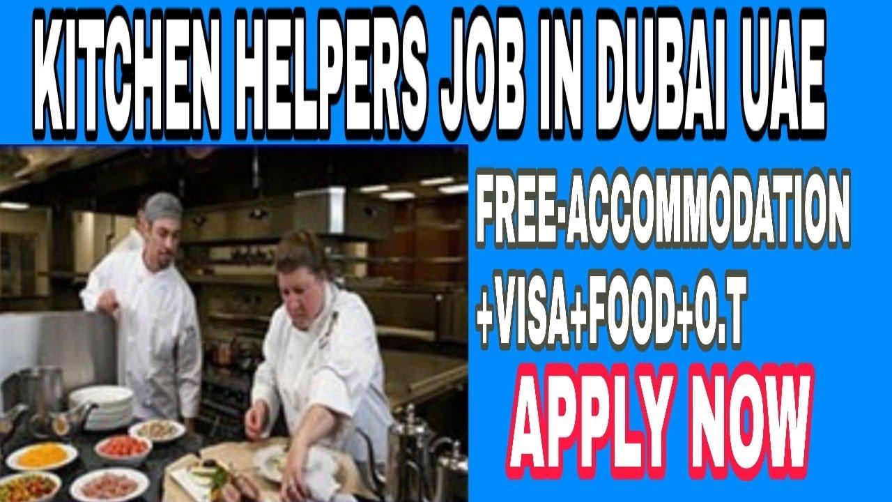 Kitchen Jobs In Dubai