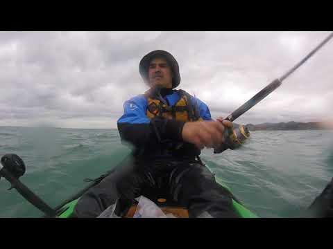 Taranaki snapper kayak fishing 6kg snapper