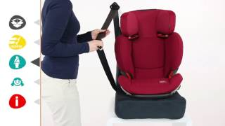 Maxi-Cosi RodiFix AirProtect® | How to install the car seat