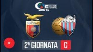CASERTANA 1-0 CATANIA  LEGA PRO C  02/03/17
