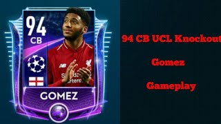 94 CB UCL Knockout Gomez Gameplay In Fifa Mobile 19 / Koko The Roblox Player
