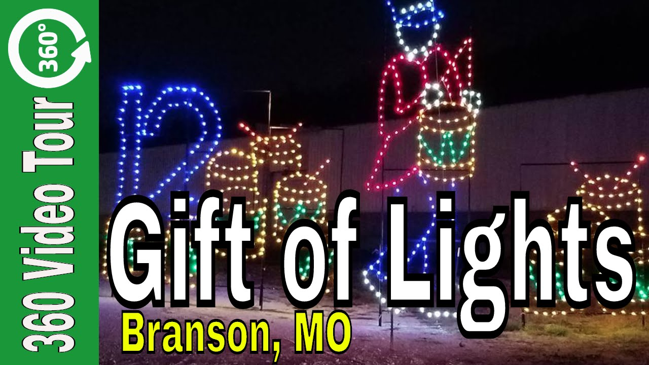 Branson Christmas Gift Of Lights Drive Thru Images