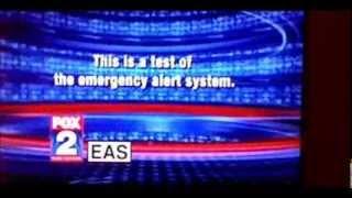 WJBK FOX 2 EAS Test Fail - March 10, 2014 - 6:54 PM EDT