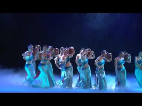 美丽的女子傣族群舞《水的女儿》