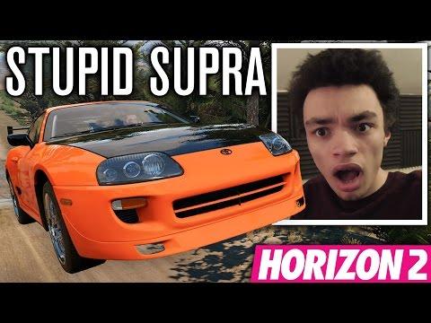STORM ISLAND JUMP SUPRA!!! | Forza Horizon 2