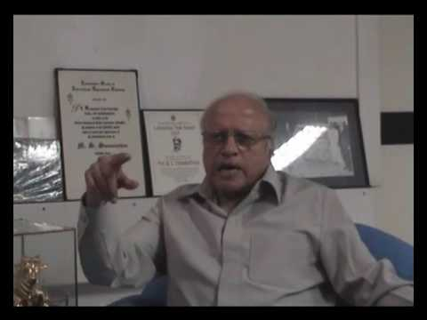 Talk by Prof. M. S. Swaminathan Part 1 of 4