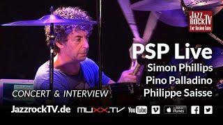 JazzrockTV #31 PSP - Philippe Saisse - Simon Phillips - Pino Palladino