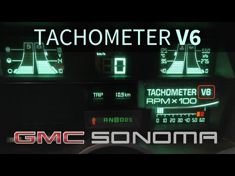 Enable 'V6' On Digital Dash | 1st Gen Chevy S10 / GMC Sonoma